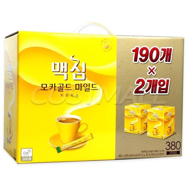맥심 모카골드 마일드 12g x 190개 x 2개/커피/380
