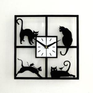 홈가든 고양이 벽시계 ( C101 ) 실내인테리어 디자인