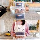 일본 나카야 2L 냉장냉동 밀폐용기