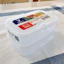 일본 나카야 450ml x 2P 냉장냉동 밀폐용기