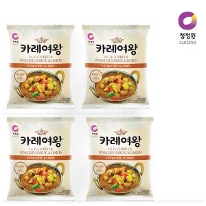 청정원 카레여왕 구운마늘양파 108g x 4개 사업자전용