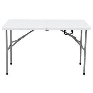 접이식4-6인용 브로몰딩 야외 행사 캠핑 테이블 1200