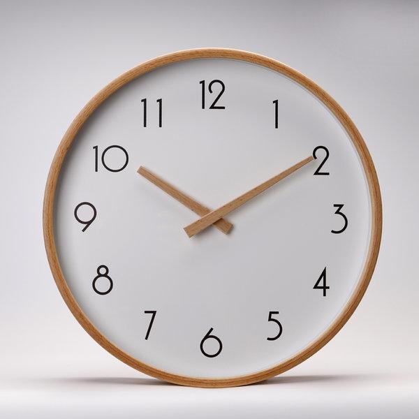 인테리어/무소음/원목/벽/시계/ 원목벽시계