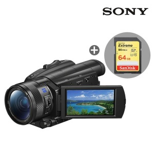 [SONY] 소니 FDR-AX700 캠코더+64GB메모리(4K)/공식대리점