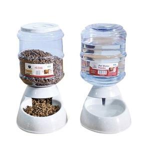 대용량 애견물통 반자동 구슬 급수기 급식기 3.5L 11L