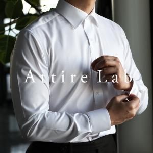 어타이어랩  남성 드레스셔츠 슬림핏 화이트/블루