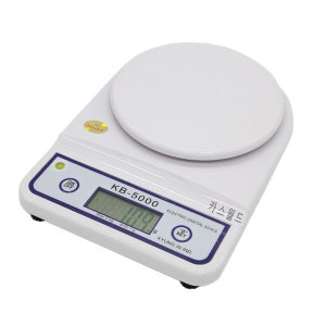 디지털 전자 저울 주방 5kg 계량 가정용 요리 KB5000