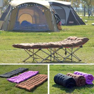 프리폼 캠핑 휴대용 럭셔리 접이식 야전침대+쿠션