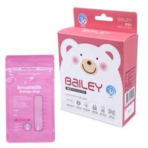 나와아기 일회용 베이직 모유 분유 저장팩 30매