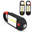 다기능 COB+LED 자석 걸이등 작업 랜턴 후레쉬 손전등
