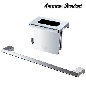 큐브-P 욕실악세사리 수건걸이 + 휴지걸이세트 FH0600