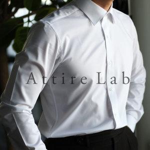 어타이어랩 남성 드레스셔츠 화이트/블루 (2종 세트)