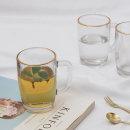 골드링터치 머그 (4P) 세트 / 물컵 유리컵