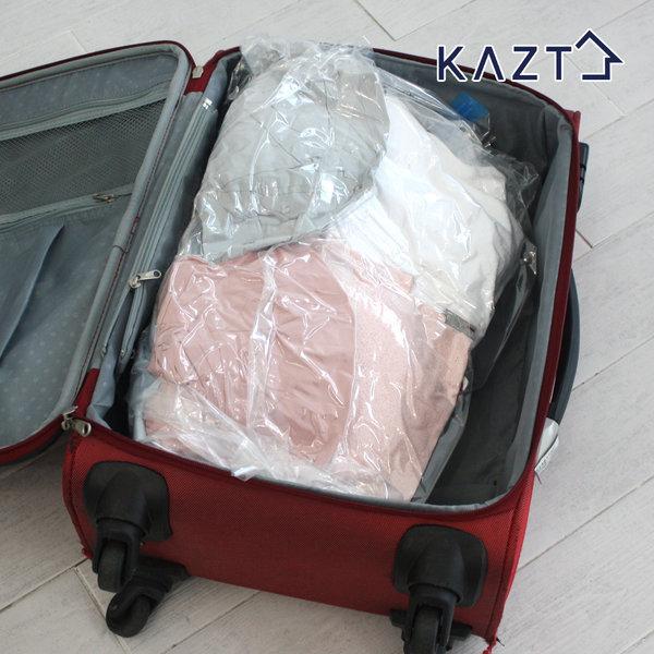 밸브형압축팩중형6장 여행용압축팩 옷정리 롱패딩