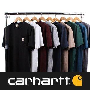 칼하트 K87 남성 포켓 티셔츠 17종 택1