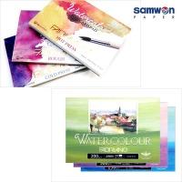 워터칼라 포스트 카드 수채화 엽서 파브리아노 캘리