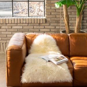 Casablanca 호주 천연 양털 러그 95x60cm