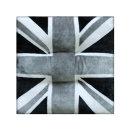 프란넬 영국기빵빵이 방석 그레이 45x45cm