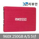 리뷰안 960X SSD250GB SATA SSD하드 데스크탑 노트북