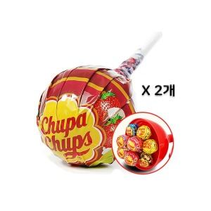 츄파춥스 미니메가 x 10개입 1+1 /막대사탕 대왕사탕