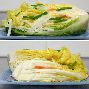 백김치3kg(정다래)/물김치/안매운김치/국내산/가정식