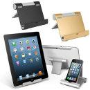 OMT 메탈 태블릿+핸드폰 2in1 거치대 OTA-FL18 실버