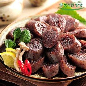 딜 속이 꽉찬 박진덕 찰순대 2kg(1kg+1kg)/무료배송