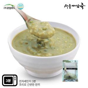 DO133  서울마님죽 아침식사 녹두죽500gx3봉