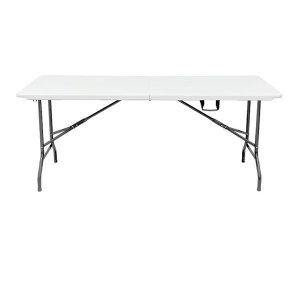 접이식6-8인용 브로몰딩 야외 행사 캠핑 테이블 1800