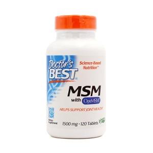 닥터스 베스트 MSM 1500 mg 120 타블렛