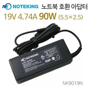 Gigabyte 19V 4.74A 90W 노트북 어댑터 전원 충전기