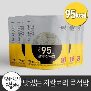 한채 건강 95 곤약 잡곡밥 110g x 5팩/즉석밥/곤약밥
