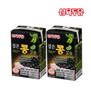 삼육두유 검은콩칼슘두유 140ml 48팩