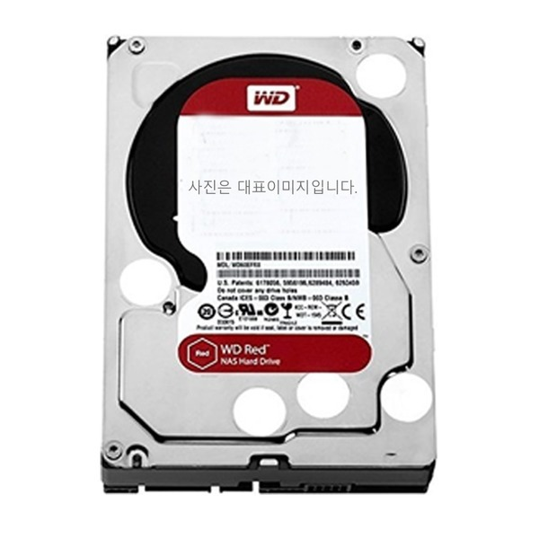 HDD WD 4TB RED WD40EFRX NAS 하드디스크 레드
