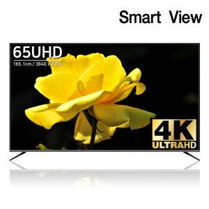 스마트뷰 J65PE UHD 4K TV 65인치 스탠드 기사방문설치