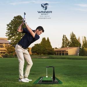 위너스피릿 골프 스윙연습기 리얼스윙300 국내생산