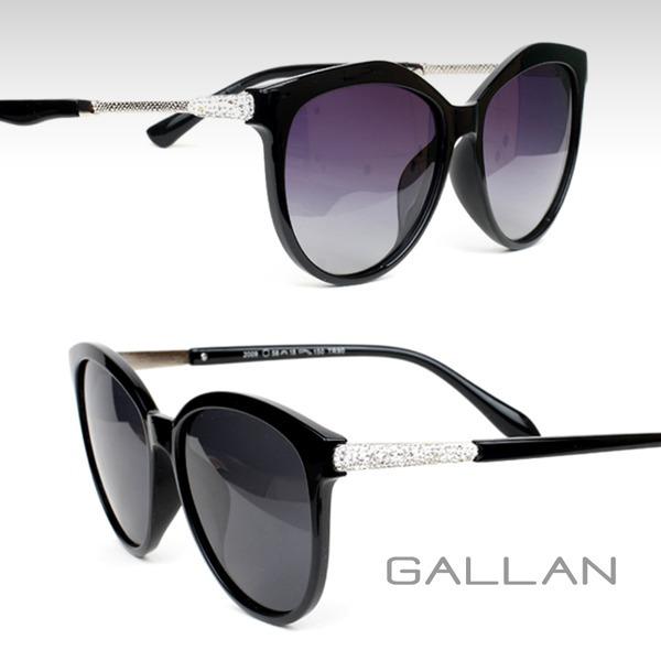 gallan 패션 선글라스 여성용 편광렌즈 미러렌즈