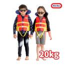 리틀타익스 수영조끼 20kg 유아용 수영자켓