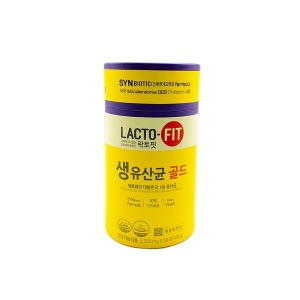 종근당건강 락토핏 생유산균 골드 2g x 50포 1통 /HY