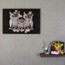 브랜치 부엉이 인테리어 벽걸이 장식 액자 거실 소품