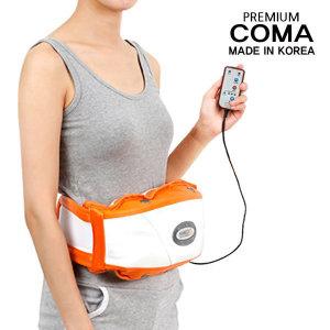 코마 뱃살 복근 진동 벨트 마사지기 운동기구 안마기