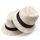 페도라 밀짚 중절모 남자 여름 모자 국산 보카시