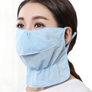 (인증)밴딩 자외선차단 마스크/얼굴 안면 햇빛가리개
