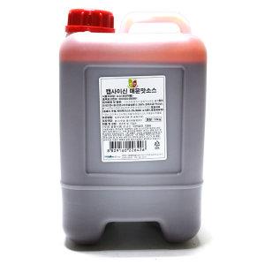 청우 캡사이신 매운맛소스 10kg /무료배송