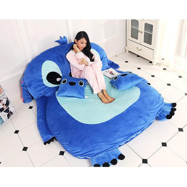 캐릭터침대 스디치 타타미 침대 이동형 A형(1200 2000)