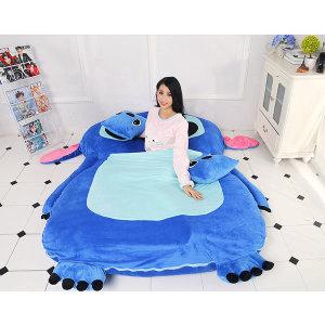 캐릭터침대 스디치 타타미 침대 이동형 B형(1500 2000)