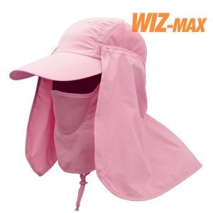 올라운드 썬캡 자외선차단 여름 햇빛가리개 일반_핑크