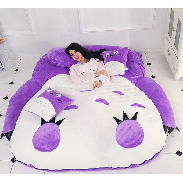 캐릭터침대 보라 타타미 침대 이동형 A형(1300 2000)