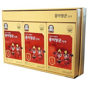 정관장 홍이장군 1단계 15mlx30포 어린이홍삼