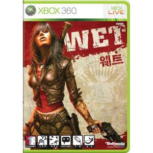 XBOX360 웨트 중고 정식발매 WET